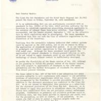 Wilbur Cohen to Edmund S. Muskie Regarding S. 306<br />