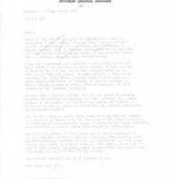 Everett Dirksen Voting Rights bill form letter
